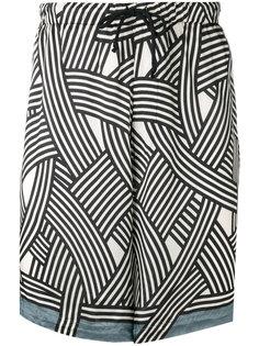 шорты с эластичным поясом Dries Van Noten