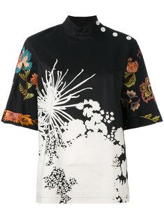 блузка с цветочным принтом Dries Van Noten