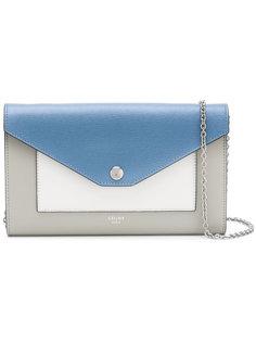 сумка через плечо дизайна колор-блок Céline