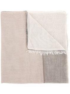 шарф с контрастной окантовкой Cerruti 1881