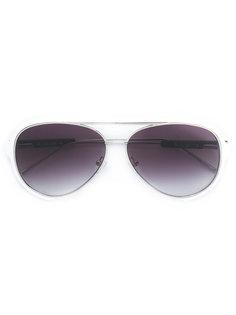 солнцезащитные очки-авиаторы Saca x Linda Farrow Sacai