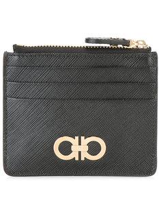 бумажник с двойной пряжкой Gancio Salvatore Ferragamo