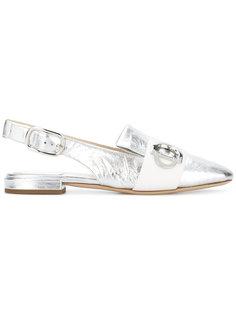 балетки с ремешком на пятке Dior