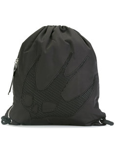 рюкзак на завязках Swallow Skull McQ Alexander McQueen