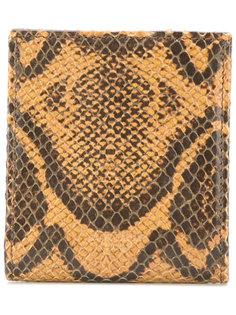 кошелек для монет с эффектом кожи питона  Givenchy
