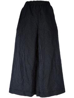укороченные брюки с эластичным поясом  Daniela Gregis