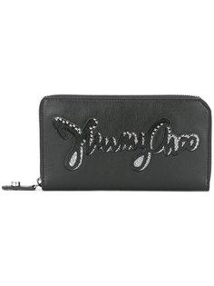 кошелек с логотипом Jimmy Choo