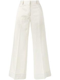 укороченные расклешенные брюки Poiretti Dries Van Noten