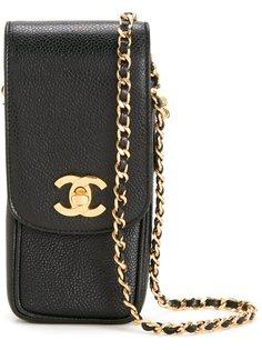 чехол для телефона на цепочке Chanel Vintage