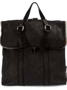 foldover top backpack Guidi