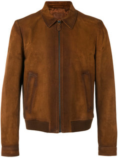 куртка-бомбер на молнии Prada