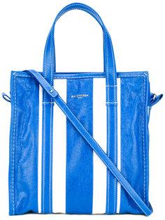 сумка-тоут в полоску Balenciaga