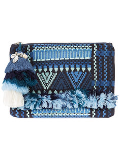 Sangita zip pouch Figue