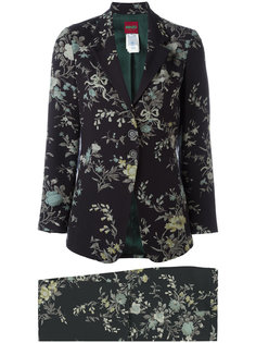 flower print trouser suit Kenzo Vintage