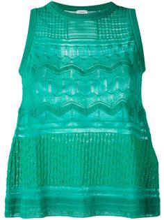 блузка с фактурной отделкой M Missoni
