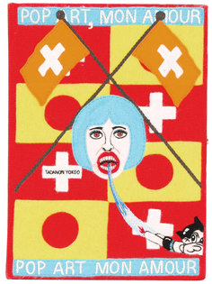 клатч в виде книги Pop Art Mon Amour Olympia Le-Tan
