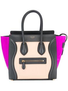 сумка-тоут с контрастным дизайном Céline