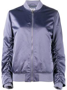 куртка-бомбер на молнии Acne Studios