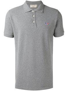 рубашка-поло узкого кроя Maison Kitsuné
