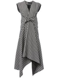 платье миди с неравномерным подолом Proenza Schouler