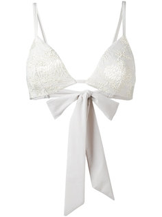jacquard flower bikini top Carine Gilson