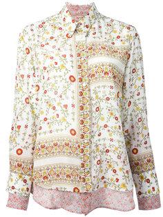 рубашка с цветочным принтом  Nº21