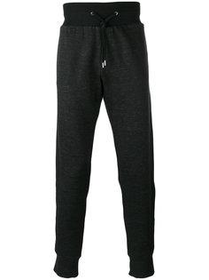 спортивные брюки с контрастной отделкой Versace