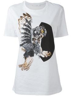 футболка с принтом совы  Neil Barrett