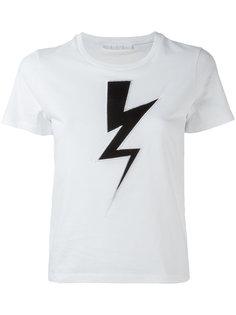 футболка с молнией Neil Barrett