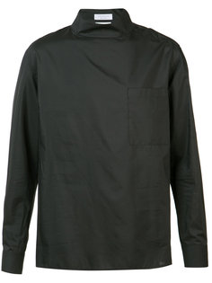 рубашка с высоким воротом Deveaux