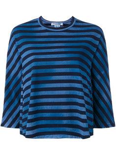 полосатая футболка с расклешенным подолом Comme Des Garçons Comme Des Garçons