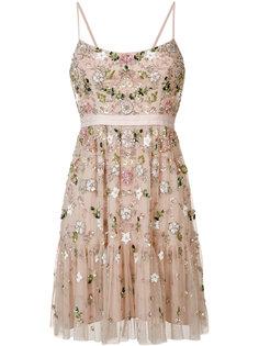 декорированное платье на тонких бретельках Needle & Thread