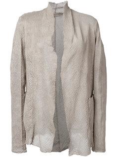 перфорированный пиджак Salvatore Santoro