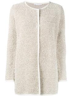 кардиган-пальто с круглым вырезом  Fabiana Filippi