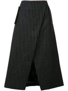 классическая юбка с запахом Josh Goot
