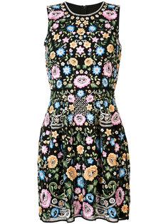 платье с цветочными элементами Needle & Thread