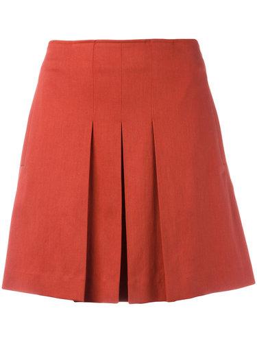 плиссированная мини-юбка A.P.C.