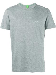 футболка с вышитым логотипом Boss Hugo Boss