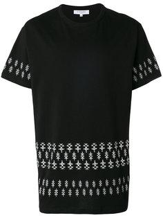 футболка с орнаментом Les Benjamins