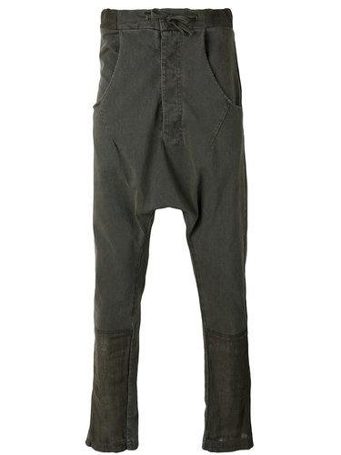 брюки с заниженным шаговым швом  Andrea Ya'aqov