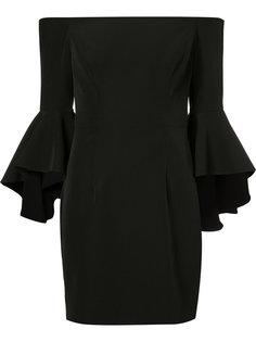 платье с расклешенными рукавами Milly