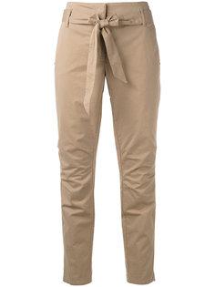 укороченные брюки с поясом Luisa Cerano