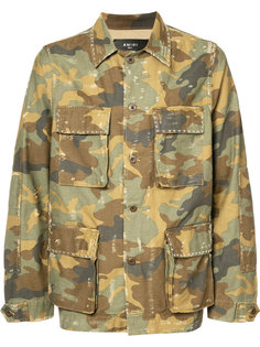 куртка-рубашка в стиле милитари Amiri