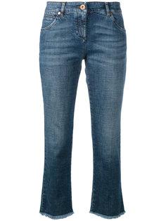 укороченные джинсы прямого кроя  Brunello Cucinelli