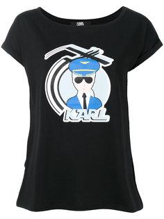 футболка D2 Karl Lagerfeld