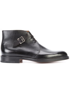 ботинки с пряжкой сбоку John Lobb