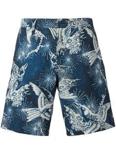 шорты-бермуды с изображением птиц Polo Ralph Lauren