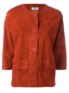 укороченный пиджак с потайной застежкой Desa Collection