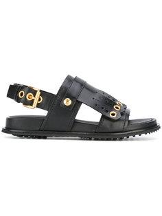 сандалии с ремешком на пятке и пряжками Car Shoe