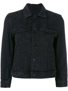укороченная джинсовая куртка Helmut Lang